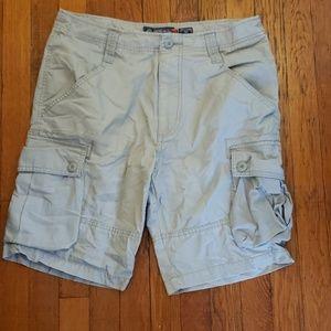 American Rag gray cargo shorts